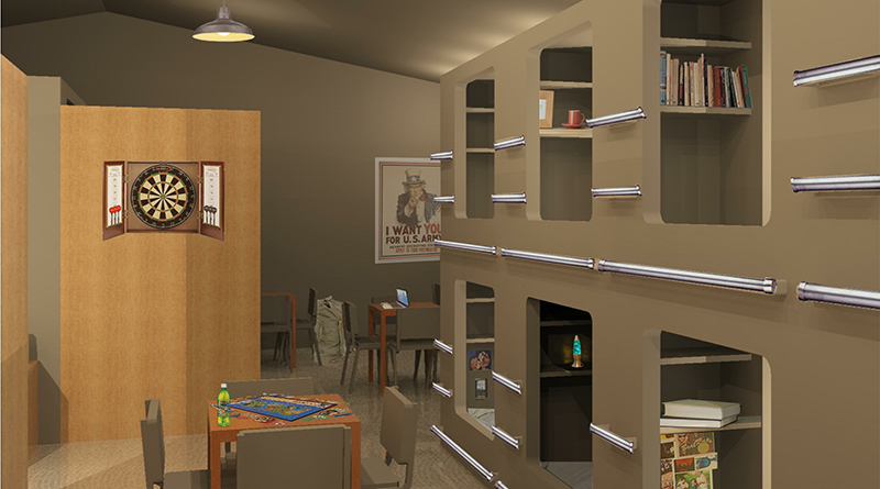 Iowa State Students Design PTSD-friendly Interiors For Combat Outposts
