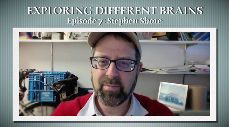 EXPLORING DIFFERENT BRAINS - Episode 07: Stephen Shore