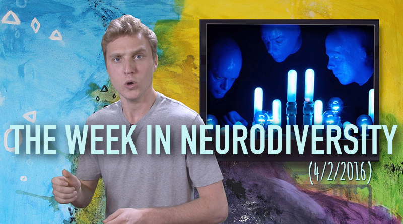 Matthew Ryan's Week in Neurodiversity (4/2/16), autism acceptance day, world autism awareness month, world autism awareness day, light it up blue, autism awareness, autism acceptance, neurodiversity