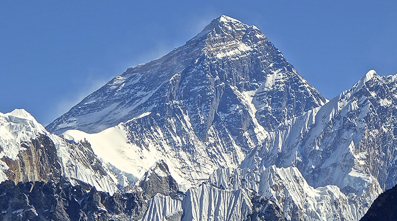 Mt. Everest From Gokyo Ri November 5, 2012