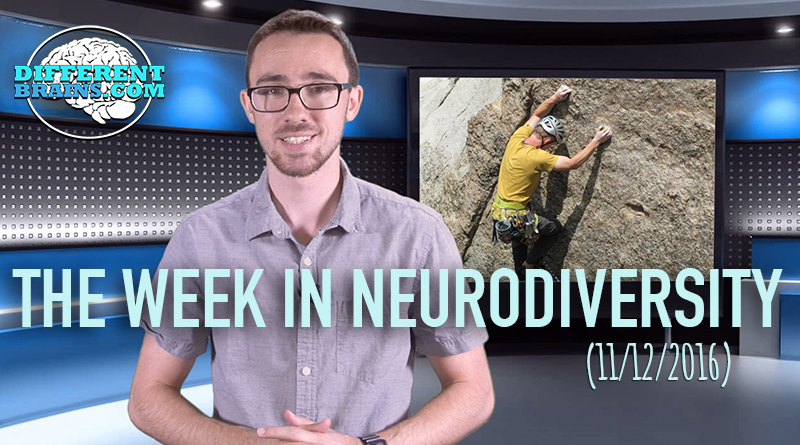 Week In Neurodiversity – Rock Climber With Epilepsy Inspires (11/12/16)