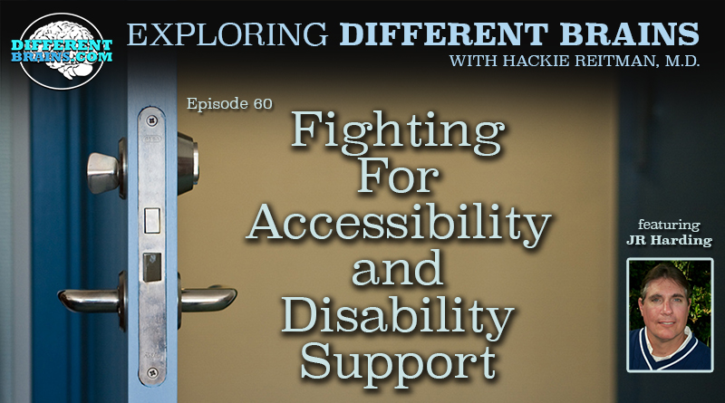 Fighting For Accessibility And Disability Support, With Dr. JR Harding Of FSU | EDB 60
