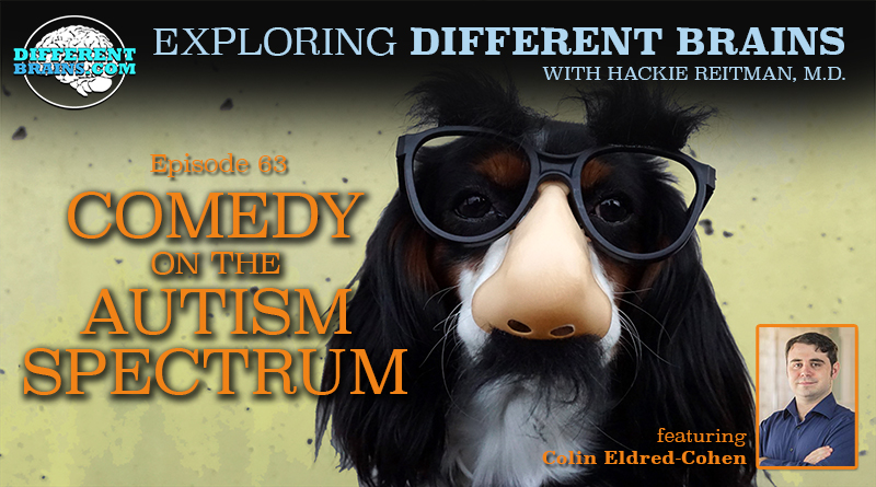 Comedy On The Autism Spectrum, With Colin Eldred-Cohen | EDB 63
