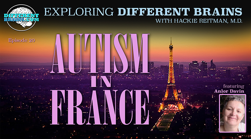 "Autism In France, With Anlor Davin Author Of ""Being Seen"" 