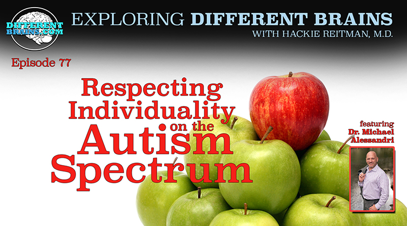 Respecting Individuality On The Autism Spectrum, With Michael Alessandri, Ph.D. Of UM-NSU CARD | EDB 77