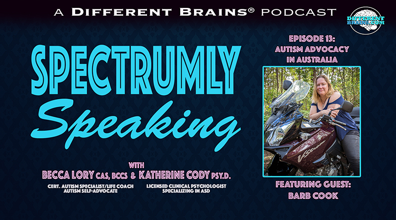 Autism Advocacy In Australia, With Barb Cook Of Spectrum Women Magazine | Spectrumly Speaking Ep. 13