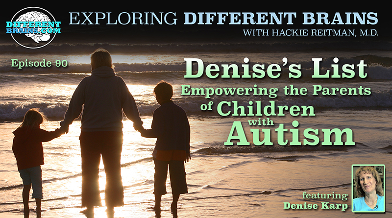 Denise's List: Empowering The Parents Of Children With Autism, With Denise Karp | EDB 90