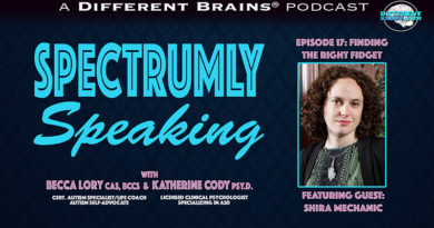 Finding the Right Fidget: Sensory Tools for People with Autism, with Shira Mechanic | Spectrumly Speaking ep. 17