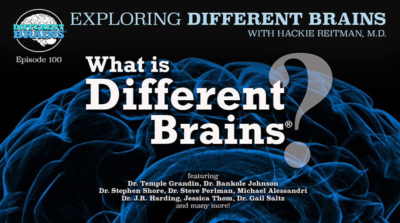 What Is Different Brains? Advocating For Neurodiversity From Autism To Alzheimer's | EDB 100