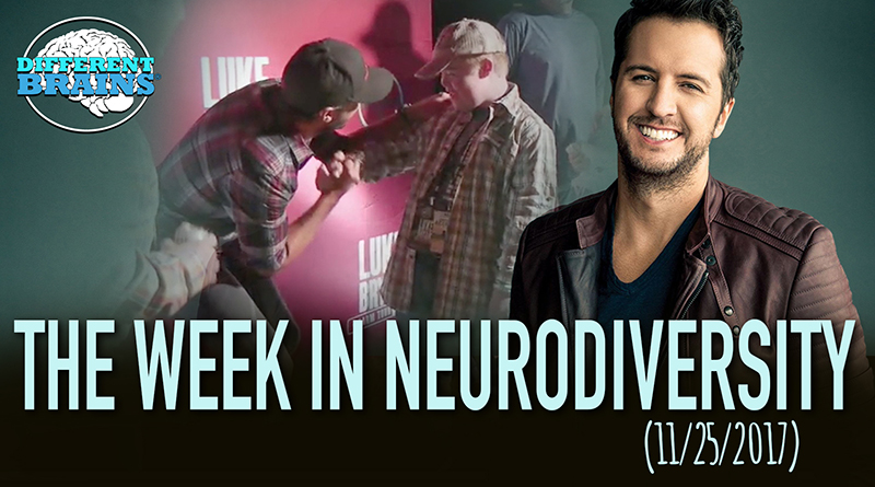 How Did Luke Bryan Help A Fan With Apraxia Speak? – Week In Neurodiversity (11/25/17)