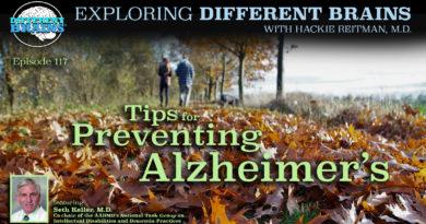 Tips for Preventing Alzheimer's, with Seth Keller, M.D. of the AADMD   EDB 117